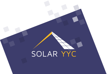 Solar YYC logo, installation of solar power system in Alberta and Saskatchewan